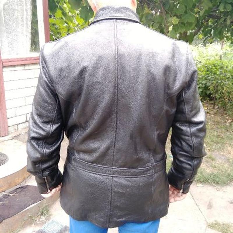 AJS Biker куртка кожаная размер 52-54 косуха мотокуртка байкер...