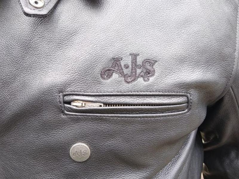AJS Biker куртка кожаная размер 52-54 косуха мотокуртка байкер... - Фото 3