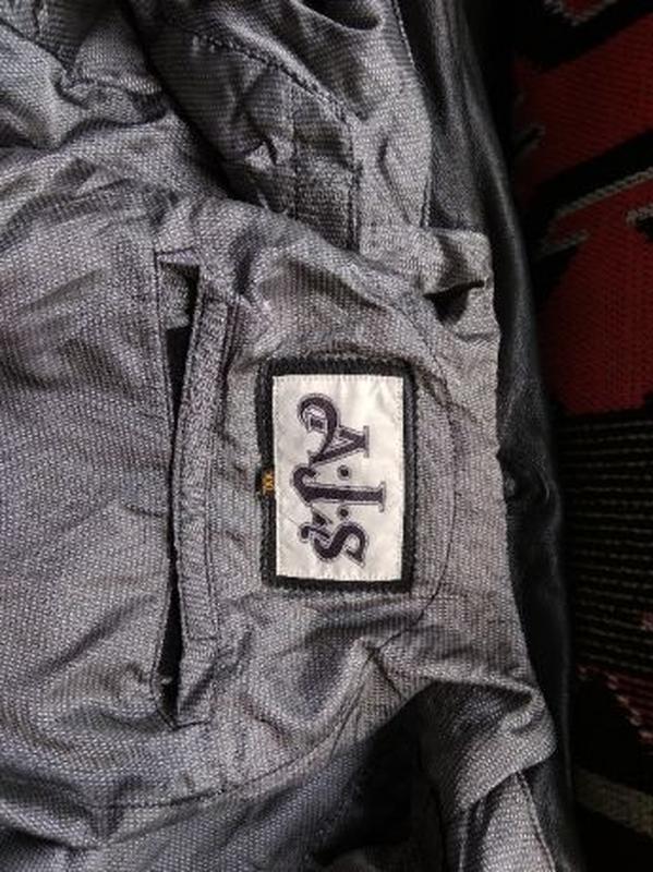 AJS Biker куртка кожаная размер 52-54 косуха мотокуртка байкер... - Фото 5