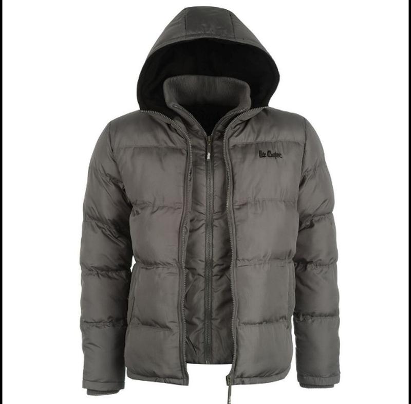 Куртка Lee Cooper 2 Zip Bubble Grey