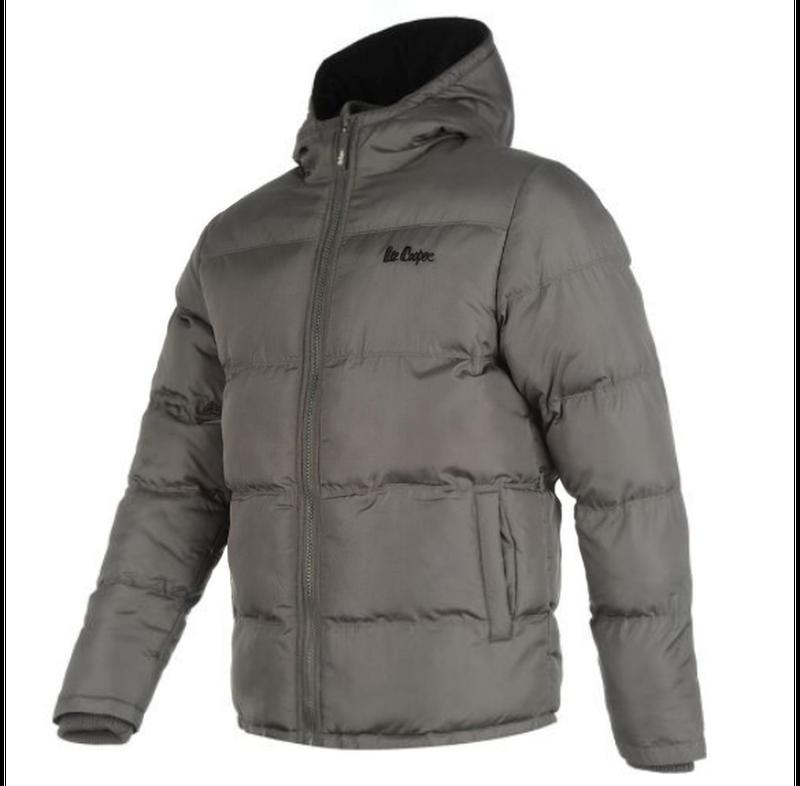 Куртка Lee Cooper 2 Zip Bubble Grey - Фото 2