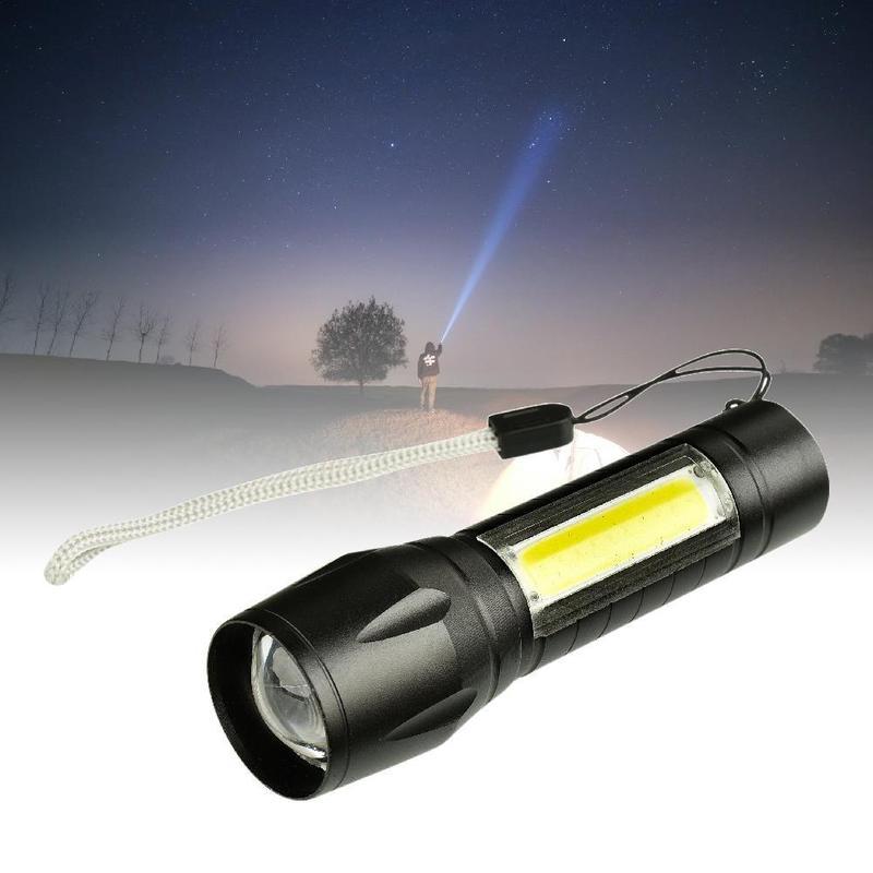 Ліхтар 2в1 BL 511 ZOOM LED світлодіодний акумуляторний (ліхтарик