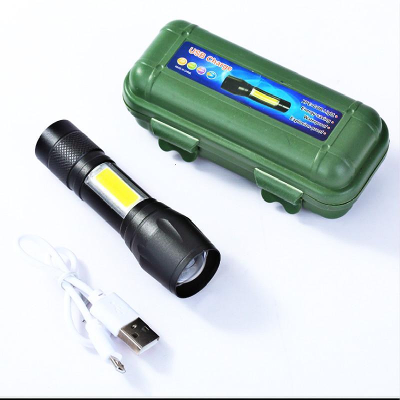 Ліхтарик міні BL-511 USB charge ZOOM кишеньковий кемпінговий у фу
