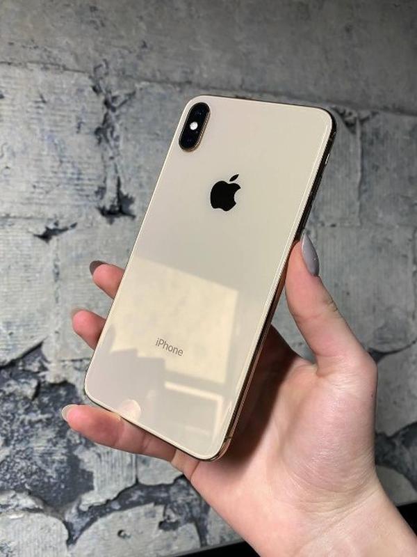 IPhone Xs Max 256GB Gold/ R-SIM/ ИДЕАЛ/ Даем гарантию!