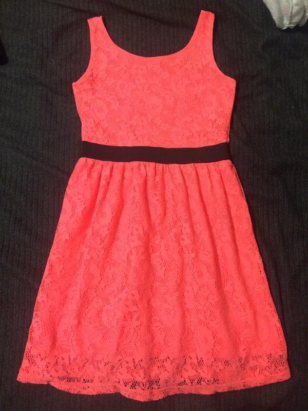 H&m платье сарафан ярко розовый