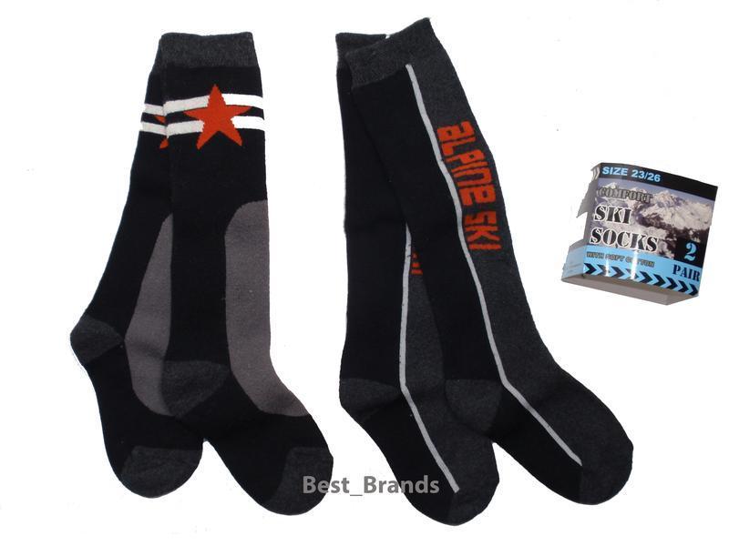 Набор 2 пары махровые высокие носки гольфы для мальчика нидерл...