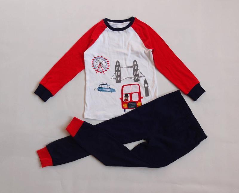 Next. пижама, комплект для дома с автобусом на 4 - 5 лет.