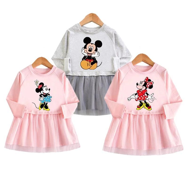 Детское платье с Минни маус и Поночкой Roco Baby, 1 - 5 года, нов