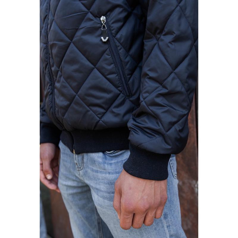 Демисезонная мужская куртка осень весна - Фото 4