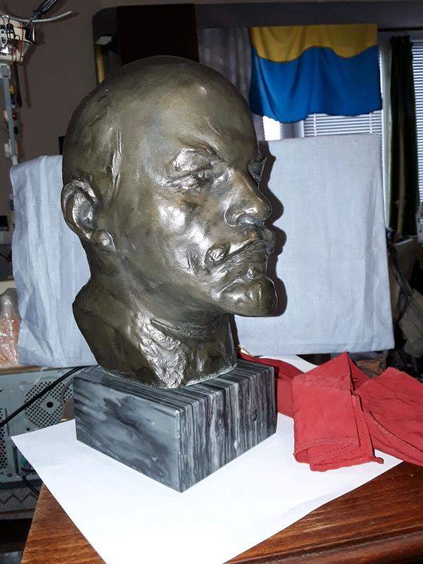 ????????????Бюст Леніна Ілліч , Владимир Ильич Ульянов Ленин Аксенов