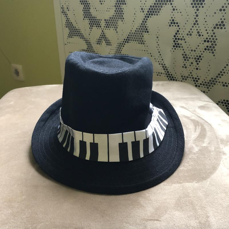 Шляпа шляпка мужская женская трибли борсалино ноты музыкальная...
