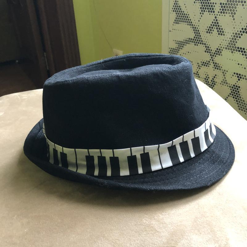 Шляпа шляпка мужская трибли борсалино ноты музыкальная клавиши
