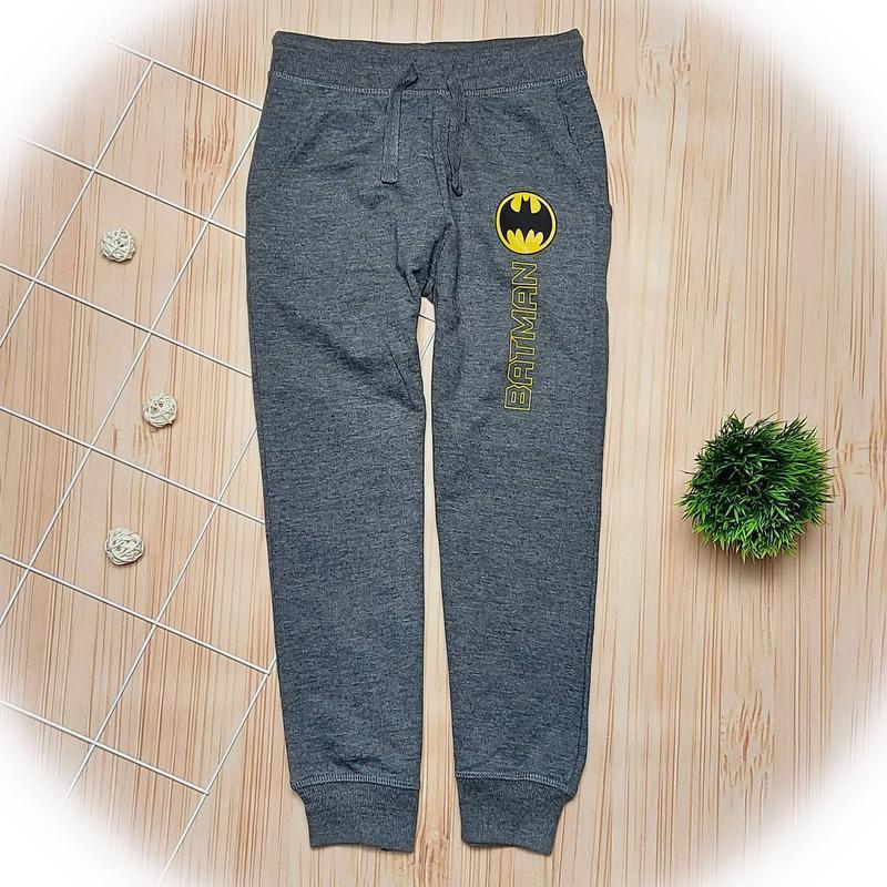 Спортивные штаны, спортивки batman, спортивні штани, темносірі...