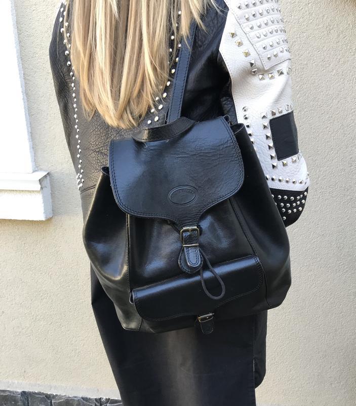 Кожаный рюкзак,сумка , simona ferri италия
