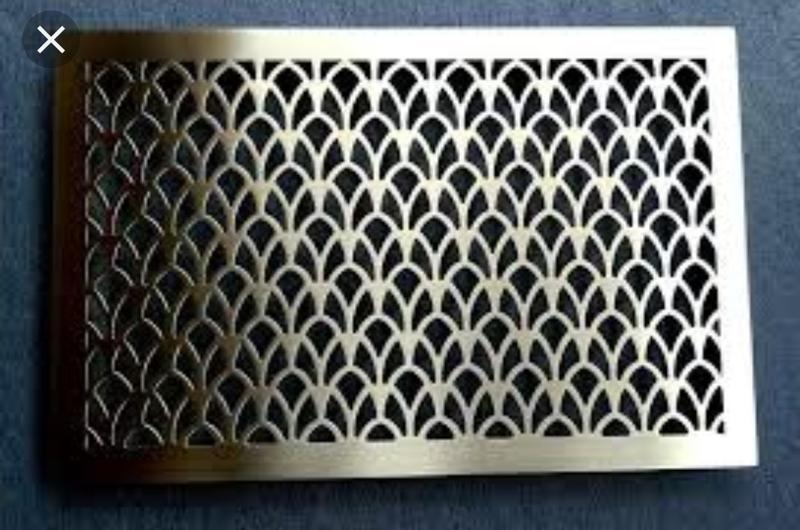 Декоративные вентиляционные решётки из нержавейки