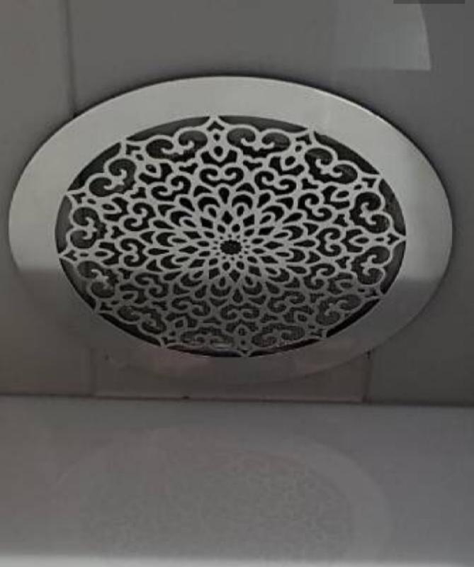 Декоративные вентиляционные решётки из нержавейки - Фото 4