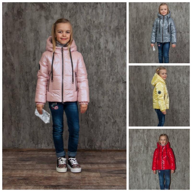 Весна 2021! детские демисезонные куртки альбина