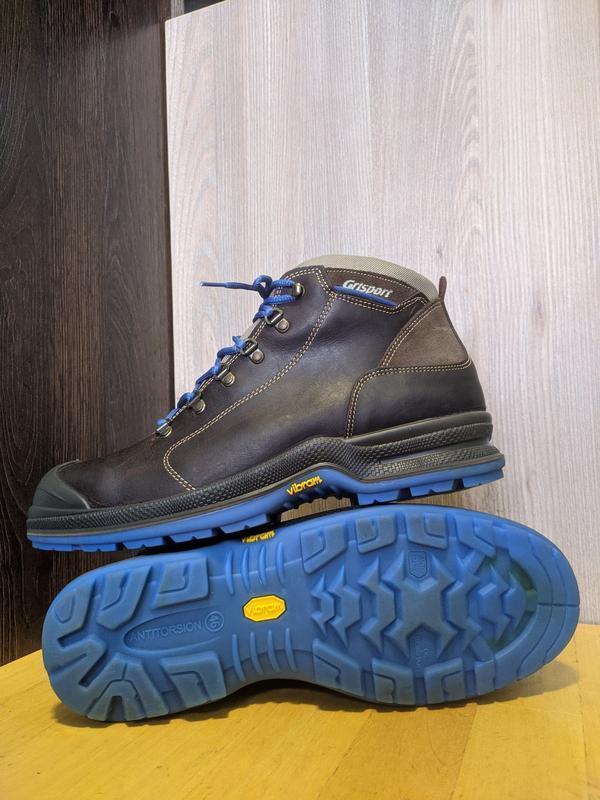 Ботинки рабочие кожаные grisport android c, vibram