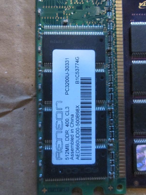 Планка памяти DDR1 256MB