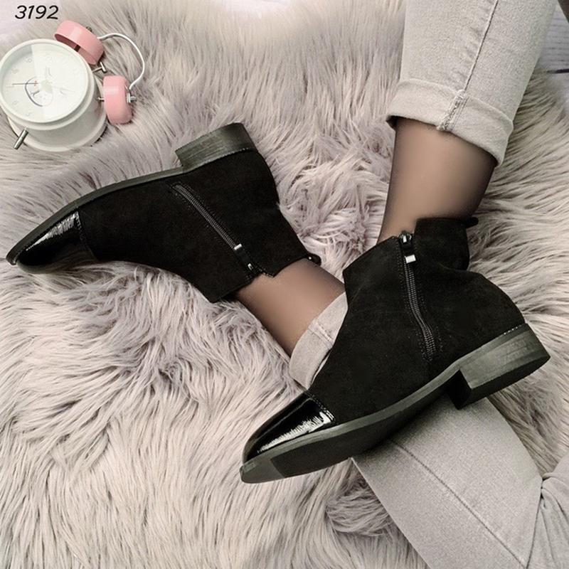 Код 3192  шикарные ботиночки - Фото 4