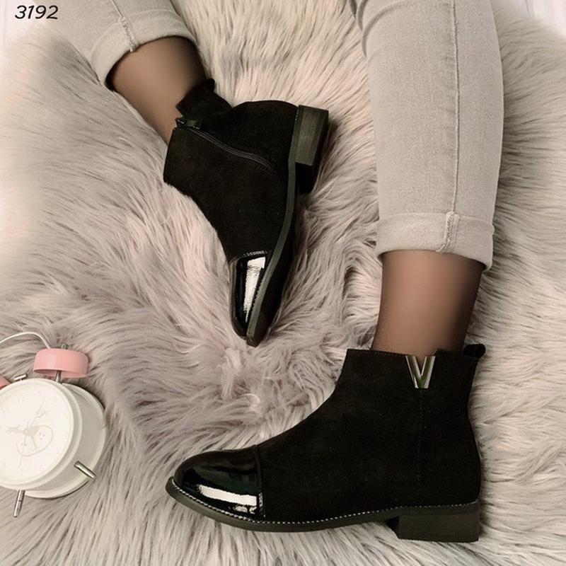 Код 3192  шикарные ботиночки - Фото 5