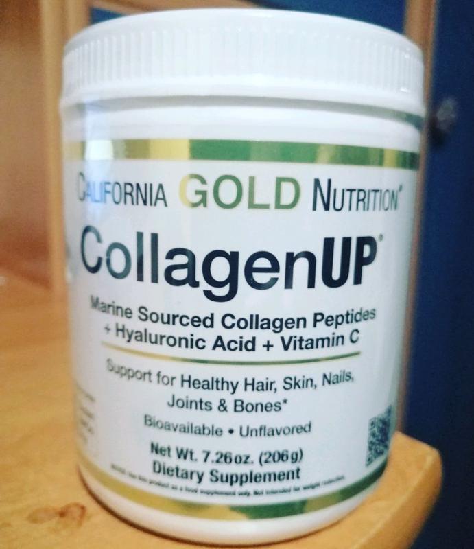California Gold Nutrition, CollagenUP, морской коллаген + витамин