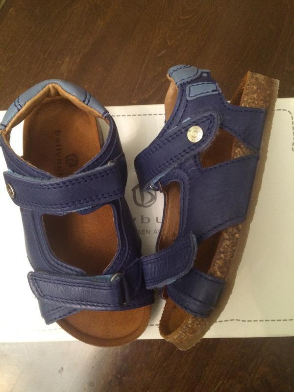 Кожаные сандали belly button