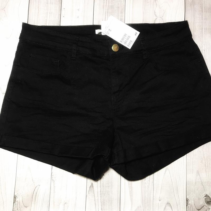 Шорты джинсовые h&m. размер 38, м