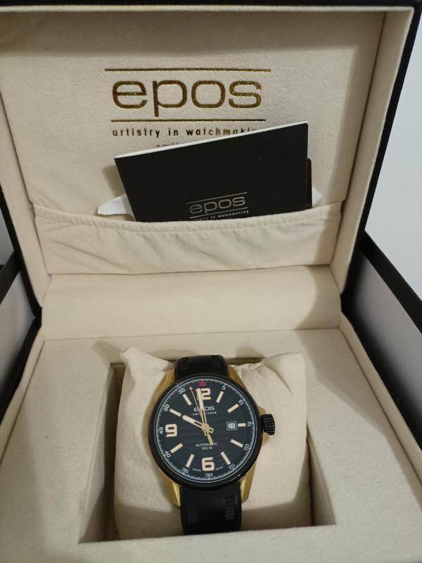 Швейцарские часы Epos, годинник. Оригинал!!! - Фото 2