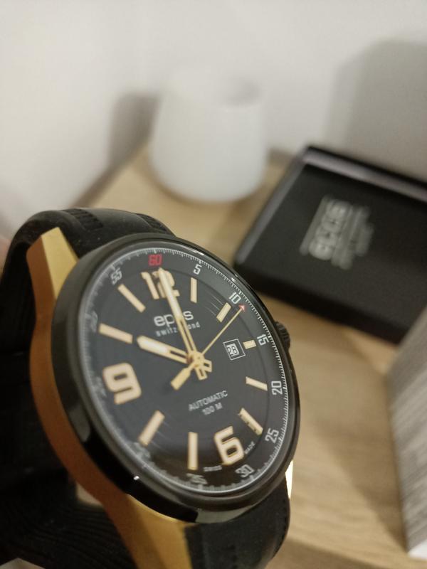 Швейцарские часы Epos, годинник. Оригинал!!! - Фото 3