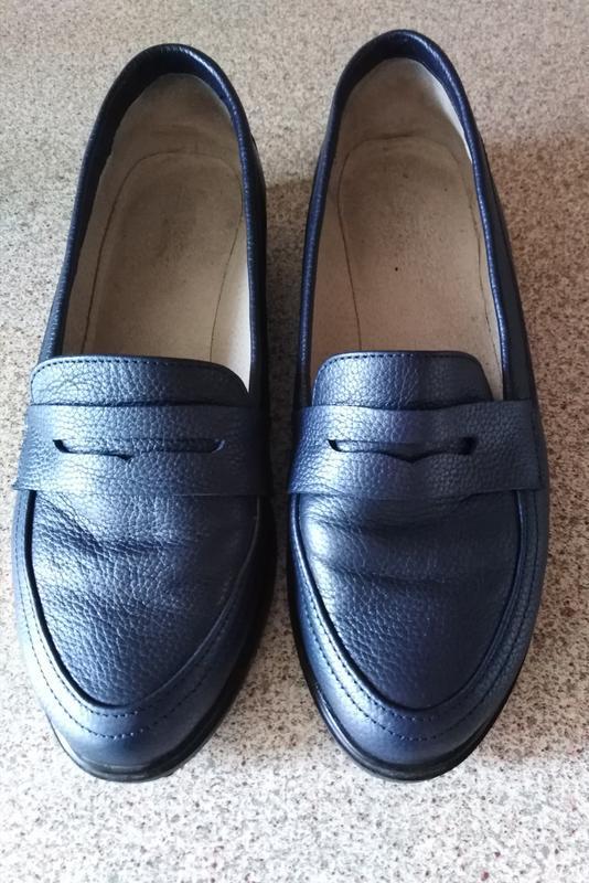 Туфли-лоферы 38 р.