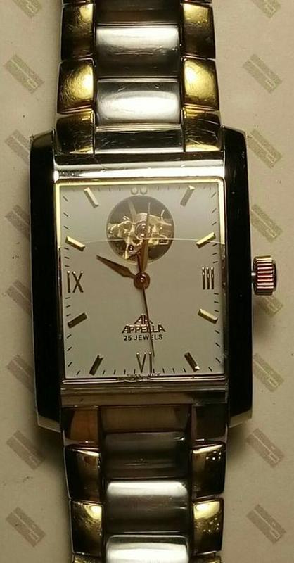 Наручные механические Appella часы для мужчин с автоподзаводом. - Фото 4