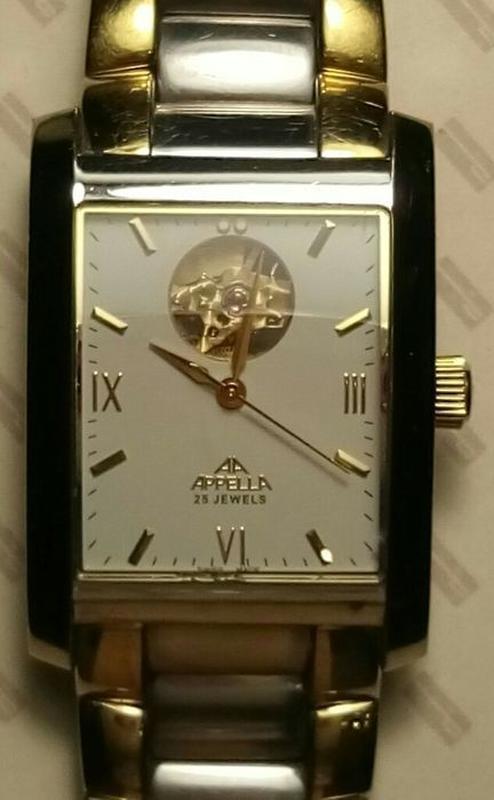 Наручные механические Appella часы для мужчин с автоподзаводом. - Фото 7