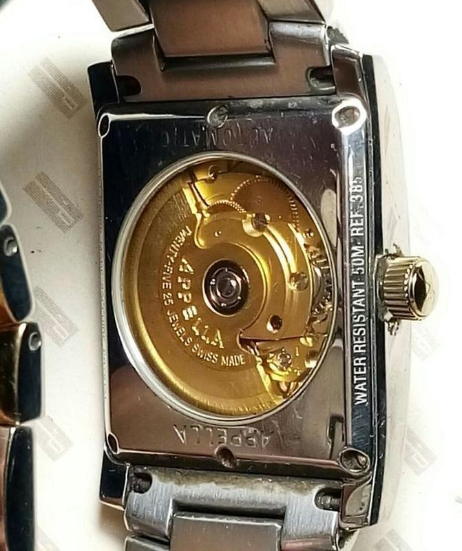 Наручные механические Appella часы для мужчин с автоподзаводом. - Фото 5