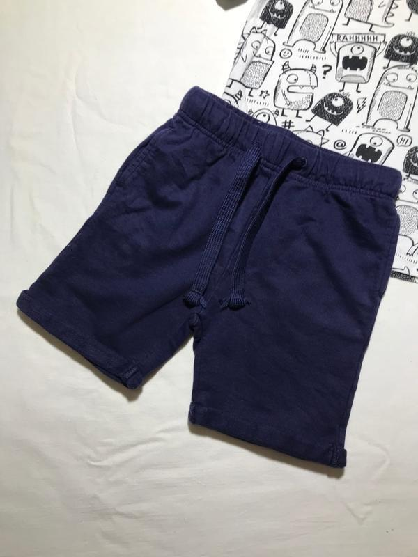 Детские хлопковые шорты tu ( ту 4-5 лет 104-110 см идеал ориги...