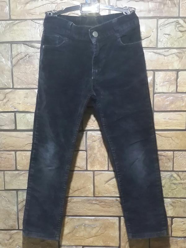 Стрейчевые джинсы ferrari. 6 - 7 лет.