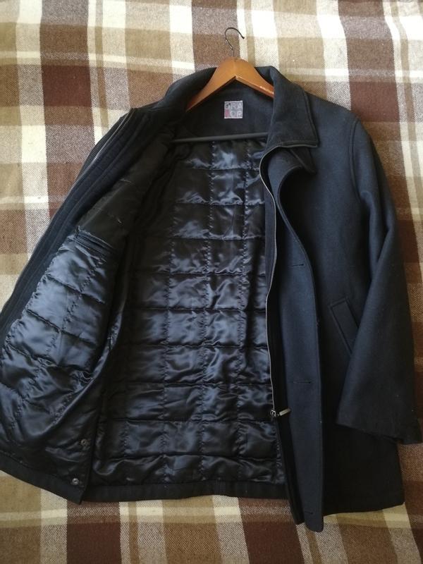 Премиальное зимнее пальто oratop turo tailor, шерсть, кашемир - Фото 2