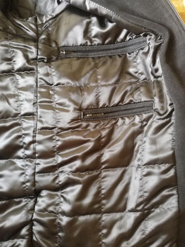 Премиальное зимнее пальто oratop turo tailor, шерсть, кашемир - Фото 4