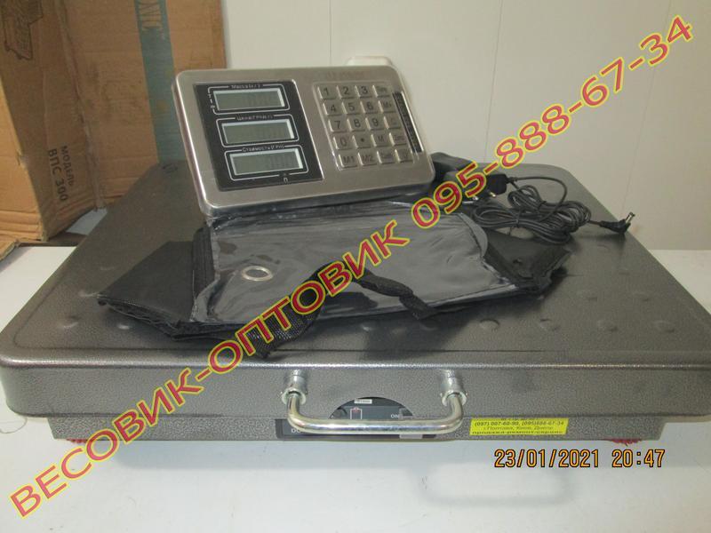 Весы беспроводные Alfasonic TCS-R2 (New) Wi-Fi 300кг 520х420мм