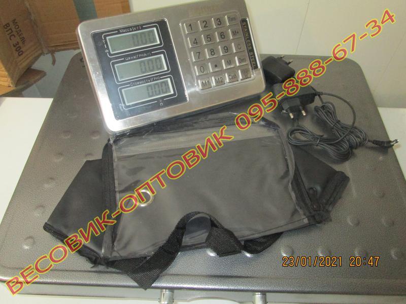 Весы беспроводные Alfasonic TCS-R2 (New) Wi-Fi 300кг 520х420мм - Фото 3