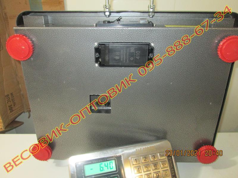 Весы беспроводные Alfasonic TCS-R2 (New) Wi-Fi 300кг 520х420мм - Фото 4