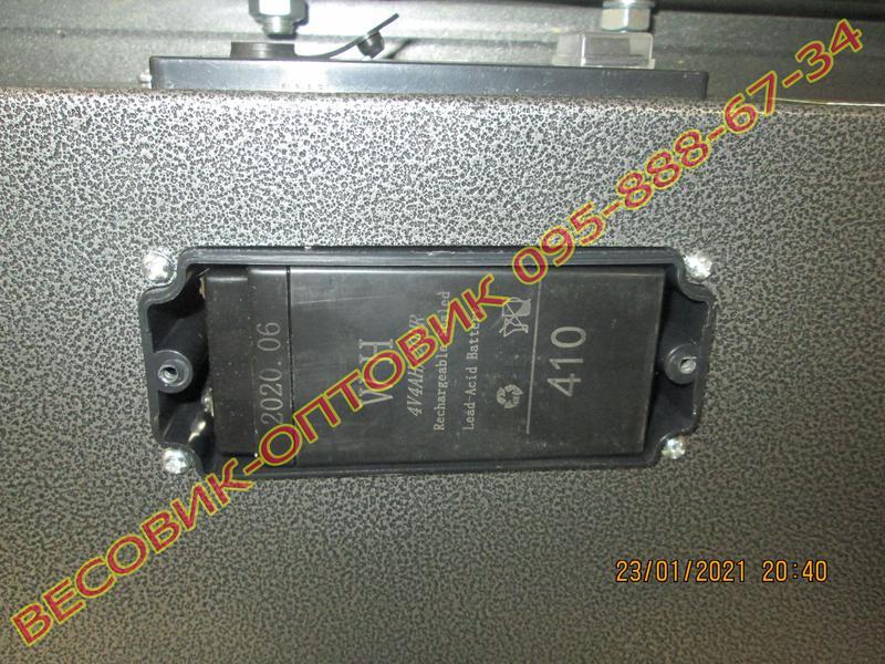 Весы беспроводные Alfasonic TCS-R2 (New) Wi-Fi 300кг 520х420мм - Фото 5