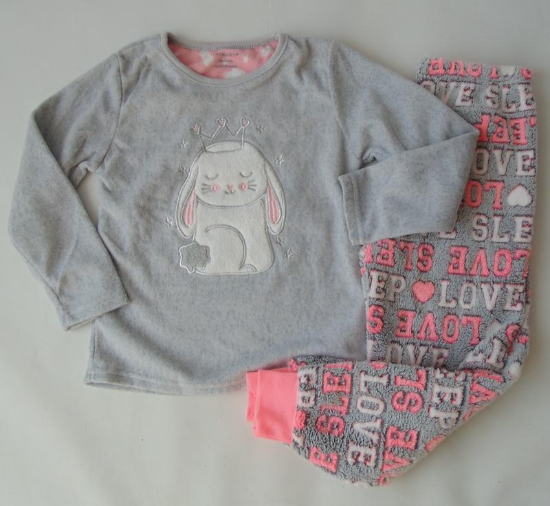 Пижама флис primark англия 5-6 лет 116 см