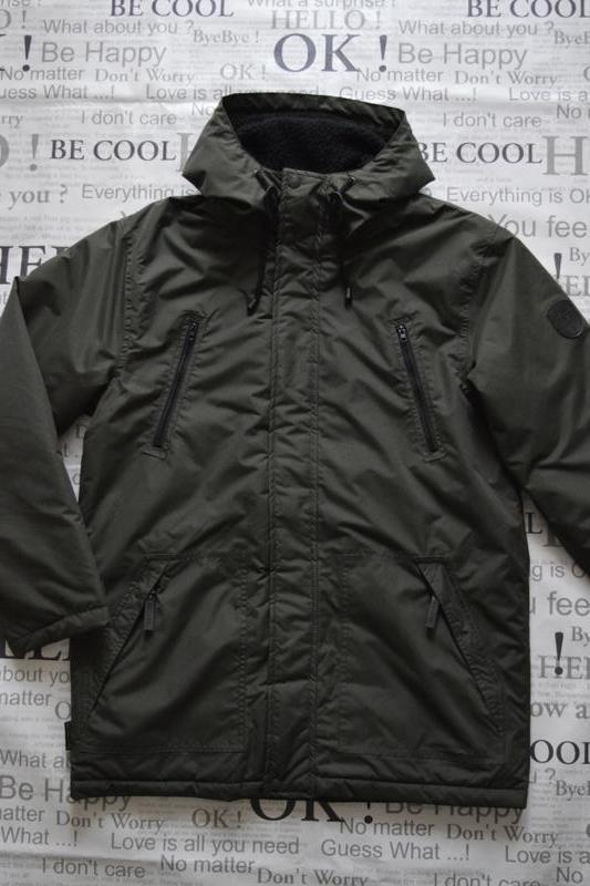 Расширенный куртка мужская зимняя gelert, водонепроницаемая, ...