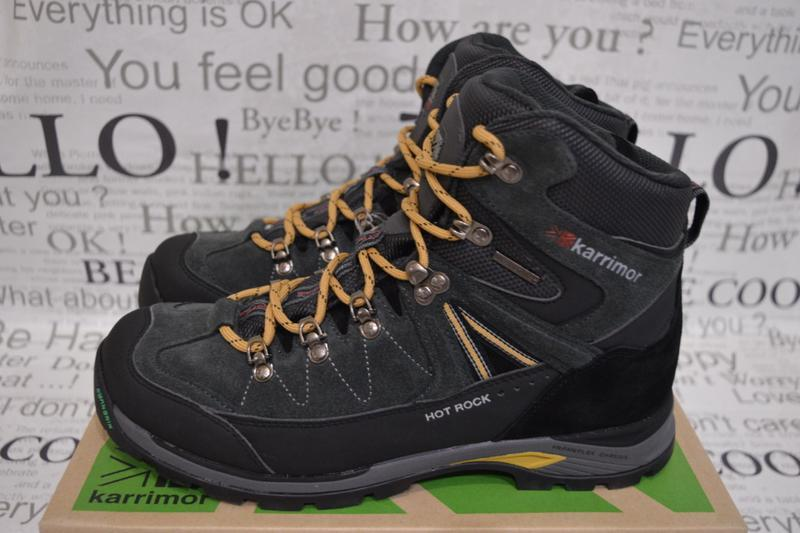 Ботинки мужские зимние karrimor hot rock, водонепроницаемые