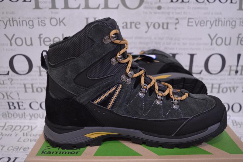 Ботинки мужские зимние karrimor hot rock, водонепроницаемые - Фото 3