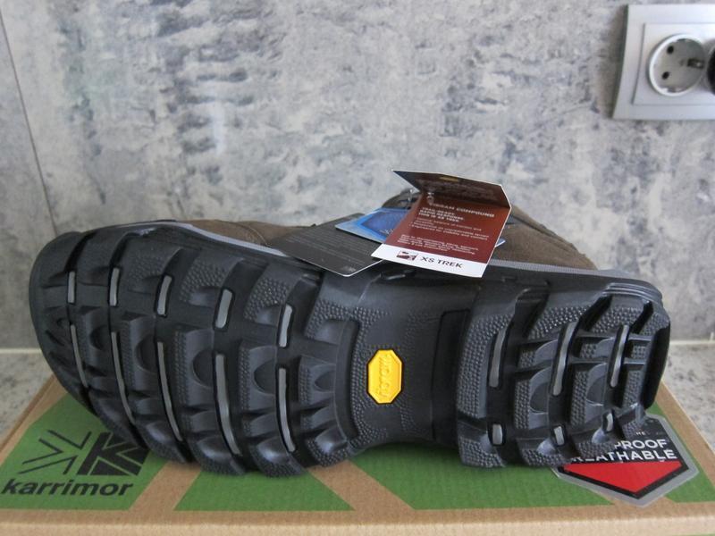 Ботинки зимние мужские karrimor, водонепроницаемые, подошва vi... - Фото 4