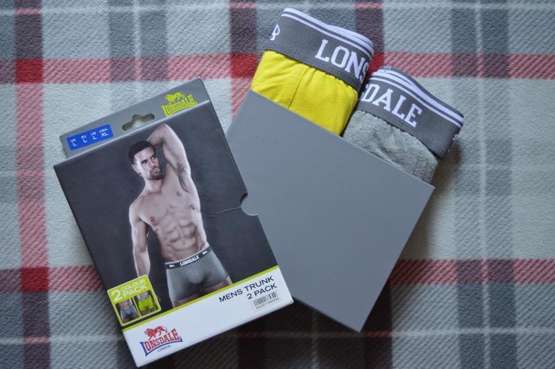 Трусы, боксеры мужские, набор 2 шт lonsdale - Фото 3