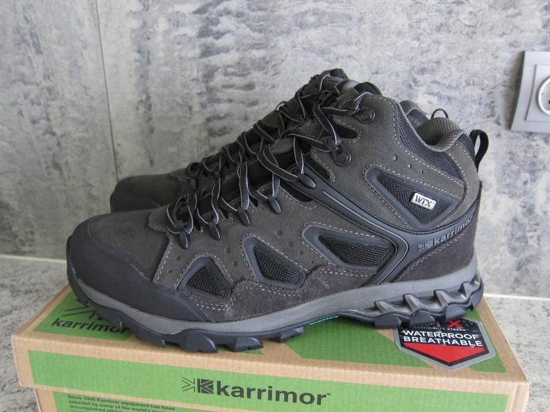 Ботинки мужские karrimor водонепроницаемые, wtx