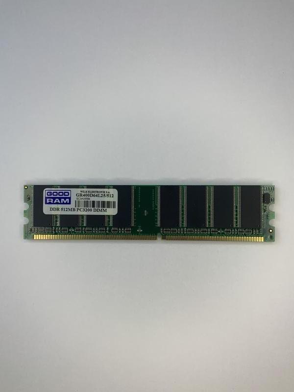 Оперативная память Goodram DDR 512mb PC-3200 DIMM